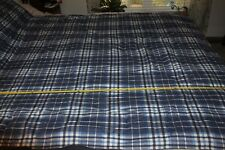 NAUTICA MILLBROOK PLAID 4 PC TWIN TWIN XL COMFORTER and SHEET SET