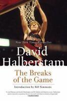 The Breaks of the Game Halberstam, David LikeNew