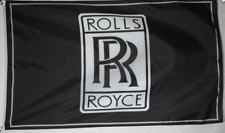 Black Racing Car Racing Banner Flags for Rolls Royce Flag 3x5ft free shipping