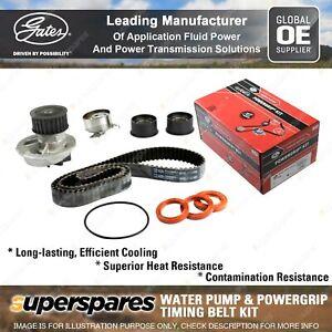 Gates Water Pump & Timing Belt Kit for Holden Captiva CG Frontera UES Vectra JS