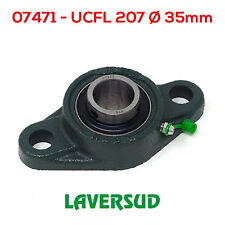Supporto UCFL 207 con Cuscinetto Autoallineante Ø Diametro 35mm UCFL207