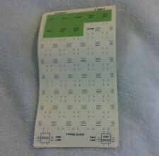 Telephone Number Cards 5 Sheets New