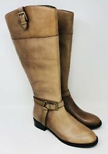 INC International Concepts Women's Fedee Tall Boots Size 9 Wide Calf Cement