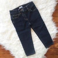Crewcuts J.Crew Sz 2 Skinny Jeans Dark Wash Adjustable Waist
