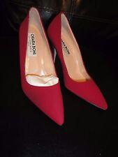 Chiara  Boni La Petite Robe  Red Heels Size 7- 7.5 US