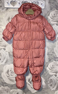 Girls Age 6-12 Months - Gap Snow Suit - Down / Feather Filled