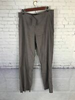 Eileen Fisher Gray Viscose Blend Pants Womens Size 14 Loose Fitting