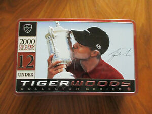 Tiger Woods Collector Series 2000 19 Under U.S.Open Nike Golf Balls Tin New $18