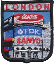 London Piccadilly Circus Embroidered Patch
