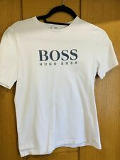 Boys Authentic Hugo Boss White T Shirt (age 12)