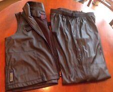 Vintage Ralph Lauren Pants Vest Active Wear Athletic Exercise Outfit Ski
