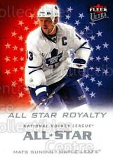 2008-09 Ultra All-Star Royalty #3 Mats Sundin