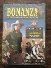 COLLECTION BONANZA DVD N°68 ... SERIE WESTERN .. 3 EPISODES
