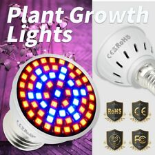 LED Grow Light Lamp Bulb Full Spectrum Flower Hydroponic Indoor Plant Growth