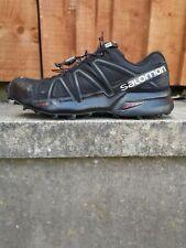 Salomon Women's Speedcross 4 Trail Running Shoes Black Size UK  EU 38