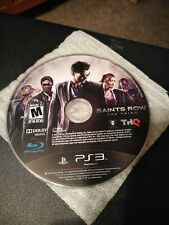 PS3 Saints Row The Third (Disc only)