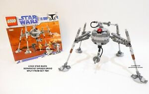 LEGO STAR WARS SEPARATIST SPIDER DROID FROM 7681 GENUINE MODEL NO MINIFIGURES