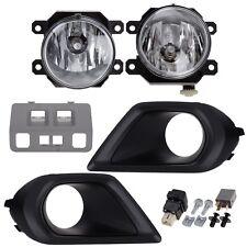 OEM 2014-15 Subaru Forester Fog Light Lamp Kit Gray Switch Panel NEW H4510SG080