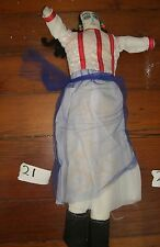 Folk Art Mexico  doll  hand made  cloth Vintage  Senora woman #21