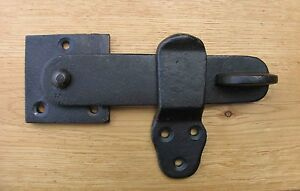 PRIVACY LATCH / DOOR LATCH - FORGED ANTIQUE IRON - QUALITY ITEMS AT TRADE PRICES