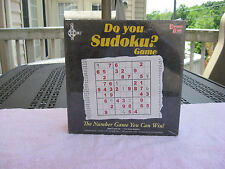 Do You Sudoku? Game~By University Games~2005~ New & Factory Sealed!