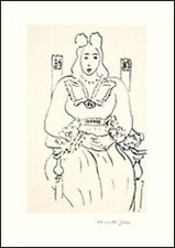 "MATISSE  PLATE SIGNED LITHOGRAPH:    ""FEMME ASSISE"""