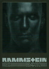 Rammstein: Videos 1995-2012 (DVD, 2013) INCOMPLETE SET MISSING DISC 3