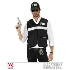 Medium/large Adult's Fbi Investigator Costume - Crime Scene (m L) (vest Hat)