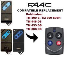 FAAC tm1 300, 418, 433, 868 Telecomando Multi Duplicatore Di Frequenza