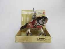 SCHLEICH KNIGHT ON HORSE WITH SWORD FIGURE SET SEALED