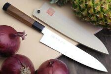 Yoshihiro Ice Hardened High Carbon Stainless Steel Wa Gyuto Japanese Chef Knife