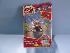 """Mucha Lucha  Dumpster Diving Flea 5""""in Figure w/Wind-Up Motorized Rolling Action"""