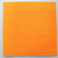 Feutrine ORANGE plaque 29x29cm épaisse 3mm Feutre tissu DIY loisirs créatifs
