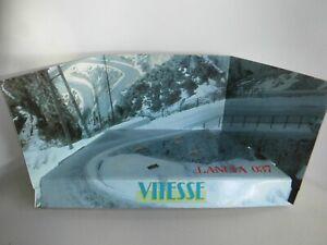 diorama 1/43 Vitesse, Lancia 037, rallye neige montagne