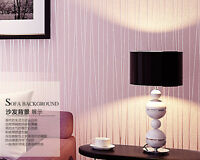Modern Peel and STICK Roll Stripes Non woven Wallpaper Simple Style