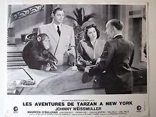 JOHNNY WEISSMULLER PHOTO EXPLOITATION LOBBY CARD TARZAN A NEW-YORK HOTEL