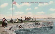 Vintage Postcard, Seaside Park, Bridgeport, Connecticut