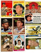 Autographed Yankees 1958 1959 1960 1961 1962 1963 1964 1965 1967 1968 all years