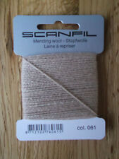 Scanfil Mending Wool 15m - Full Range of Colours Available Mushroom Beige