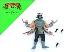 2003 TMNT Teenage Mutant Ninja Turtles ~ ' MULTI-ARM SHREDDER ' ~ 90% Complete