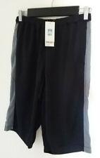 Uniqlo Quick Dry Black / Grey Mesh mens training shorts. Medium. New with tags