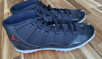 Nike Air Jordan 11 Retro Bred Football Cleats AO1561-010 Men's Size 17
