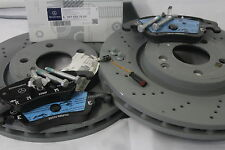 Genuine Mercedes-Benz C218 CLS Coupe Shooting AMG Front Brake Discs & Pads Kit