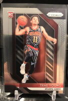 2018-19 Panini Prizm NBA #78 Trae Young RC Rookie Atlanta HAWKS