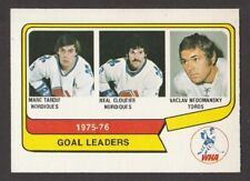 1976-77   OPC O PEE CHEE  WHA  # 1  GOAL LEADERS   INV  J3485