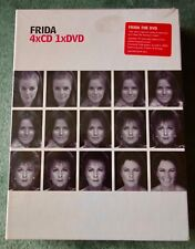 FRIDA+4xCD+1XDVD+BOX SET+LIMITED EDITION+ANNI-FRID LYNGSTAD+1967-2005+ABBA
