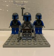 Lego Star Wars Jango Fett Mini figure And Mandalorians