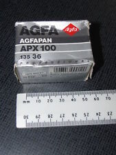 1 BOX AGFA AGFAPAN APX 100 135 36 BLACK AND WHITE FILM (EXPIRED)