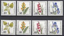 Berlin 2 Sätze: 650 - 653 post. Wohlfahrt Gefährdete Moor-Sumpf-Wasserpflanzen