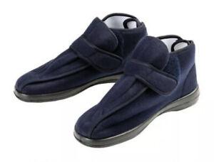 Sensiplast Mens Comfort Slippers. Navy Blue. Size U.K. 11.5. EU 46. Brand New